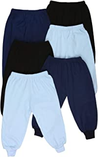 ToBeInStyle Boy's 4-Pack Casual Cuffed Pants Relaxed Fit