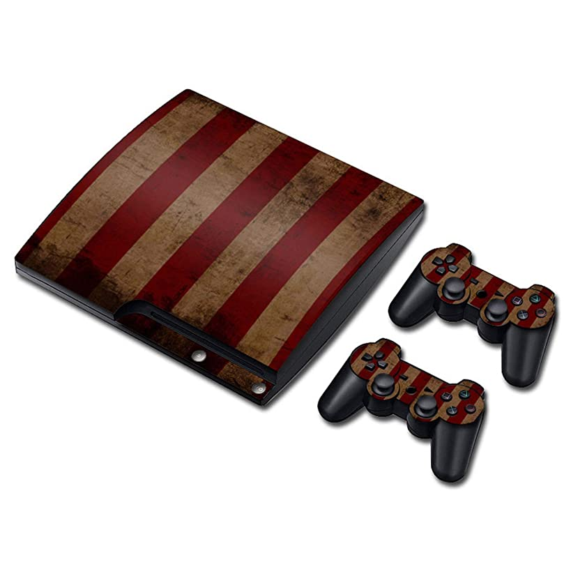 Decal skin cover Sticker vinyl pvc For Playstation 3 Slim console and controllers for PS3 slim,0206