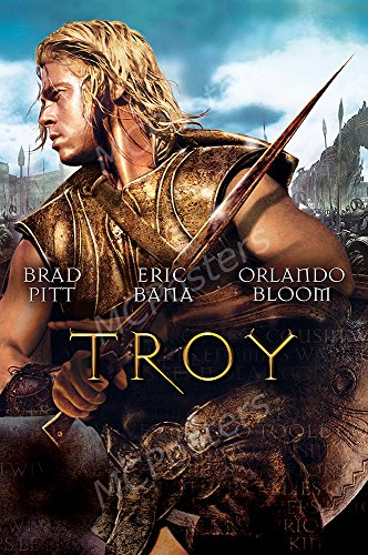 "MCPosters Troy Brad Pitt GLOSSY FINISH Movie Poster - MCP494 (24"" x 36"" (61cm x 91.5cm))"