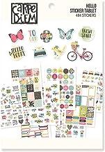 Carpe Diem by Simple Stories A5 Sticker Tablet Hello