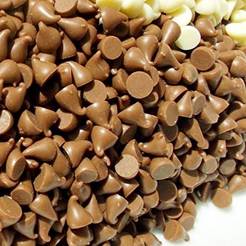 Gocce di cioccolato al latte 300g 500g 700g 1kg 1.4kg–confezionati singolarmente–Fontana decorazione di dolci, dessert baking party Celebration Brown