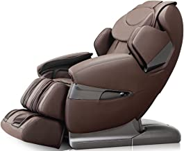 Apex APPROLOTUSB Model AP-Pro Lotus Massage Chair, Brown, Zero Gravity Position, Space Saving Technology, Innovative Negative Oxygen Ion Ionizer, Bluethooth Connection to Your iPhone or Smartphone