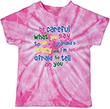 Be What You Crazy I'm Not Afraid to Tell On You Boys-Girls Cotton T-Shirt