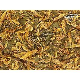 Super Aquarium Fish Food 100% Natural Mix Food Dried Shrimp, Gammarus, Flakes Tropical Fish Food, Reptile, Terrapin, Turtle Food (10g)
