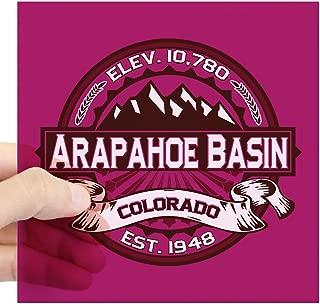 CafePress Arapahoe Basin Raspberry Square Sticker 3