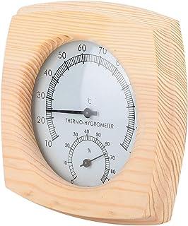 JULYKAI Thermomètre numérique pour Sauna, thermomètre pour Sauna, résistant aux Hautes températures, Portable Robuste et R...
