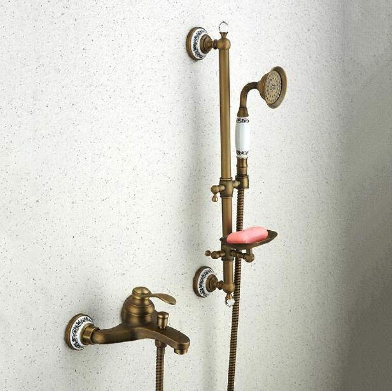 Badewannenarmaturen Antike Badewanne Mischbatterie Neue Keramik Stil Hand Badewanne Wasserhahn Wandmontage Duscharmaturen