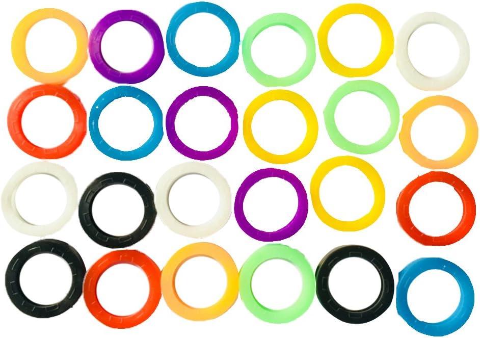 24pcs Colorido Cubierta De Teclado Cubre # 2