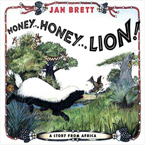 Honey...Honey...Lion! cover art