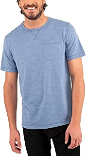 Men's T-Shirt Tee Crew Neck Chest Pocket, Variety