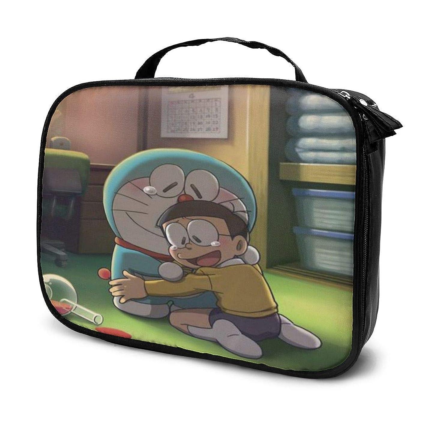 ヘビー不信睡眠Daituドラえもんと彼の人生 化粧品袋の女性旅行バッグ収納大容量防水アクセサリー旅行
