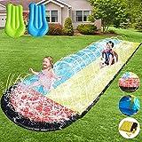 EPROSMIN Water Slides for Kids Backyard - 16ft Slip and Slide for Kids Water Slide,Outdoor Water Toys for Kids Slide,Inflatable Water Slide for Big Kids and Adults