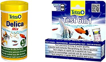 Tetra Delica Naturfutter - Futtertiere als natürliche Leckerbissen für Zierfische, versch. Sorten Mückenlarven, Brine Shrimps, Wasserflöhe, Krill, Menu, Mix
