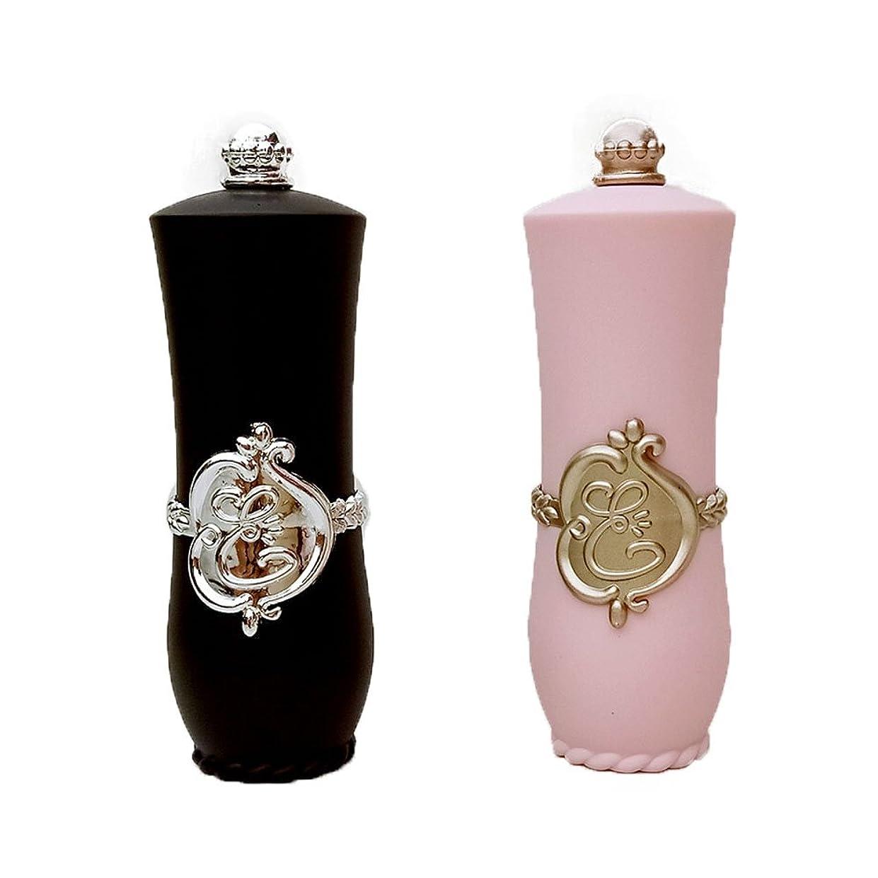 ケイ素魅力恥ずかしい10本12.1mmピンク/ブラックかわいい空の口紅チューブDIYのリップクリーム容器チューブ美容メイクアップツール (ピンク)