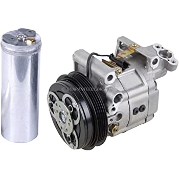 BuyAutoParts 60-88984R2 New For Subaru Fprester 1998 1999 2000 AC Compressor w//A//C Drier