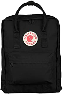Zeiger Unisex Nylon Fjallraven Kanken Sports Travel School Shoulder Backpack (Black, 16)