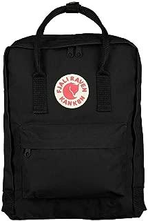 Zeiger Unisex Nylon Fjallraven Kanken Sports Travel School Shoulder Backpack (Black, 16)