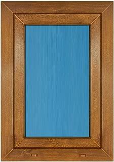 Ventana Pvc color Madera 800x1000 Oscilobatiente Derecha (