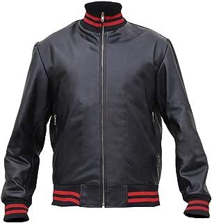 Aus Eshop Rape Singer Marshall Bruce Mathers III Not Afraid Eminem Black Leather Bomber Jacket