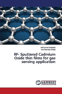 RF- Sputtered Cadmium Oxide thin films for gas sensing application