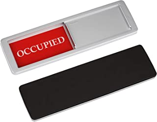YARKOR Occupied Vacant Sign, Door Signs Privacy Sign for Office, Conference/Meeting Room, Bathroom, Hotel, Restroom, Classroom - Magnetic and Double-Sided Tape Option, 7