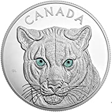 2015 CA Royal Canadian Mint In the Eyes of the Cougar 1 Kilogram Silver Coin Silver Proof