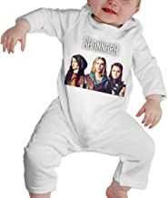 RuiPeng Baby Boy Girl O-Neck Long-Sleeve Romper The Shannara Chronicles Funny Crawling Suit Black