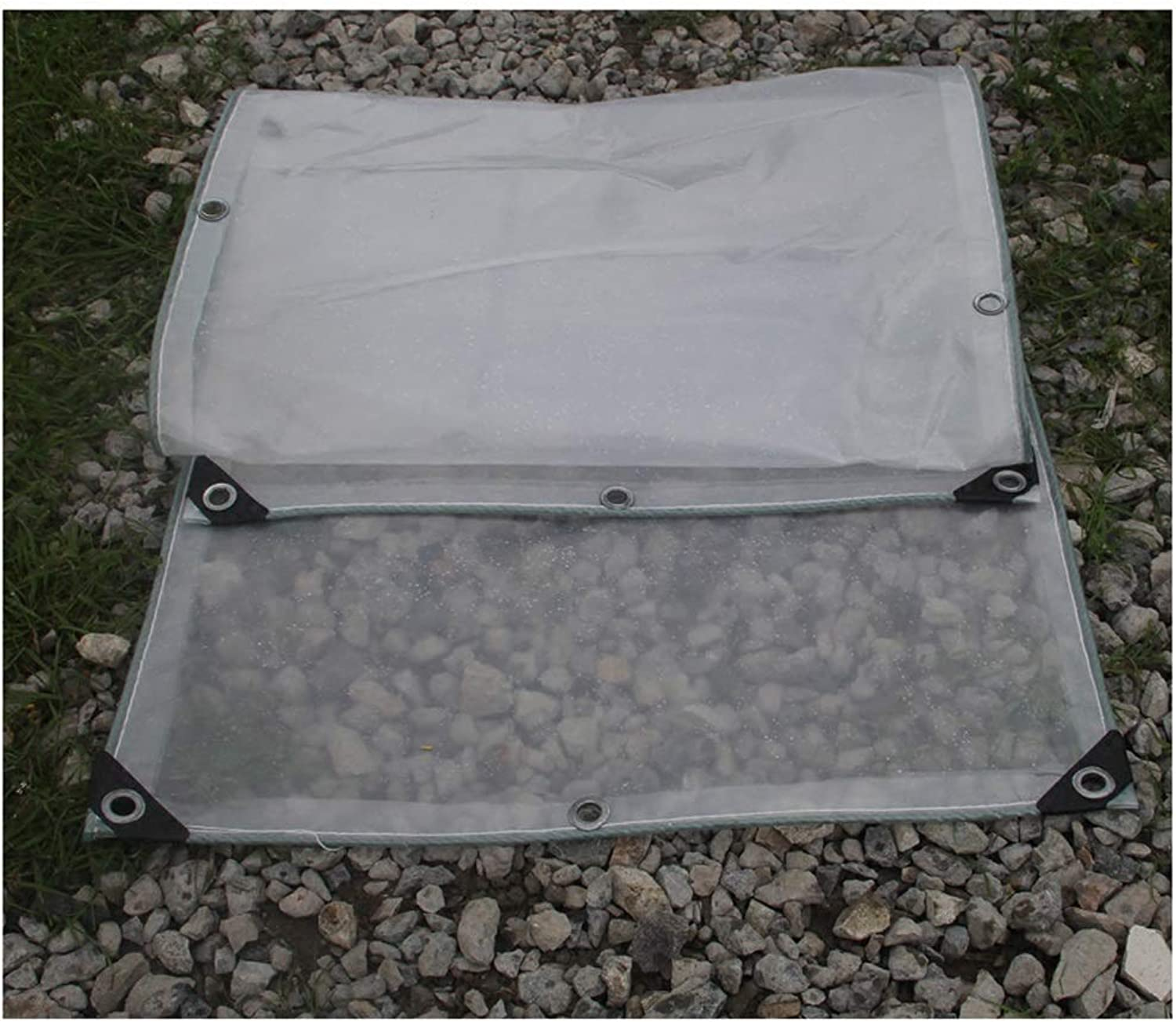 Good Cleaning Tarpaulin Transparent Cloth Tarpaulin for Outdoor Furniture Picnic Vehicle Camping Multiple