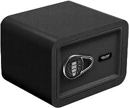 Safe Electronic Password Mini Safe Student Dormitory Valuables Password Box Office Hidden Safe (Color : Black, Size : 38 *...