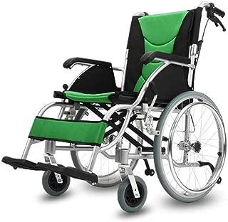 Self-Propelled Wheelchairs Transport Medical Lightweight Nursing Cart,Elderly, Disabled, Rehabilitation Patient Medical Assistance Foldable Wheelchair