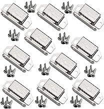 Magnetische vangsten RVS Kast Kleine Magnetische Deurvangst voor Showcase Kast Locker Latch Kleine Poort 10 stks