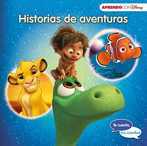 Historias de aventuras (Te cuento, me cuentas una historia Disney): Buscando a Nemo, El viaje de Arlo y El rey León