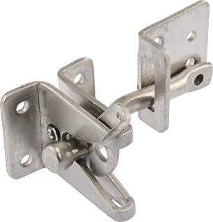 Hardware Essentials Self Adjustable Gate Latch Stainless Steel