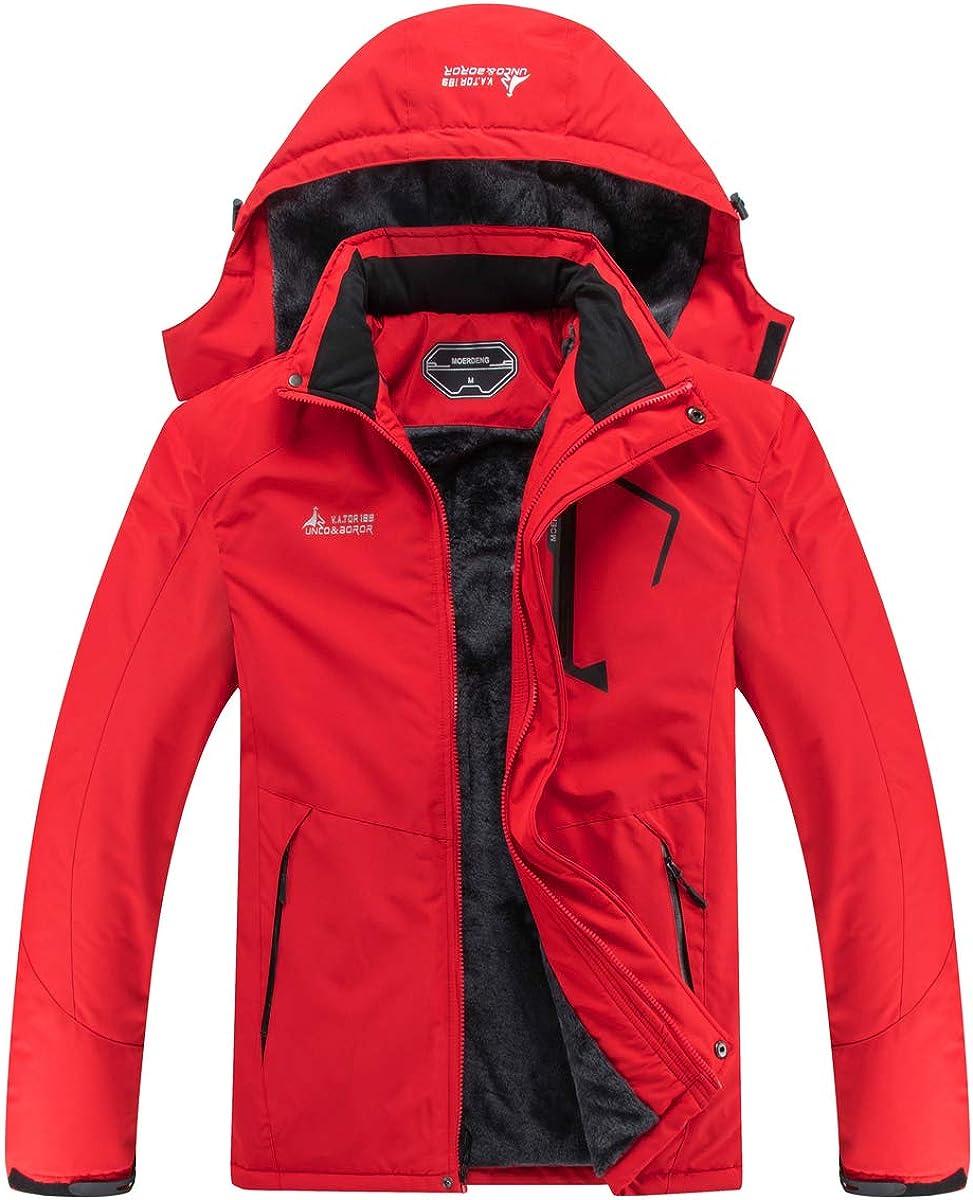 大特価!! MOERDENG Men's Waterproof Ski デポー Jacket Winter Coat Warm Mount Snow