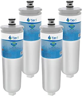 Tier1 Replacement for Bosch 640565, Whirlpool WHKF-R-PLUS, EVOLFLTR10, CS-52, AP3961137 Refrigerator Water Filter 4 Pack