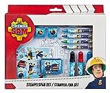 Undercover FSTU3971 - Feuerwehrmann Sam Stempelspaß mit Stempeln, Stempelkissen, Fasermalern,...