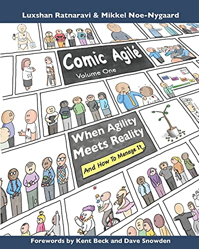 Comic Agilé Volume One: Accounts of the magical moments that occur when agility meets reality