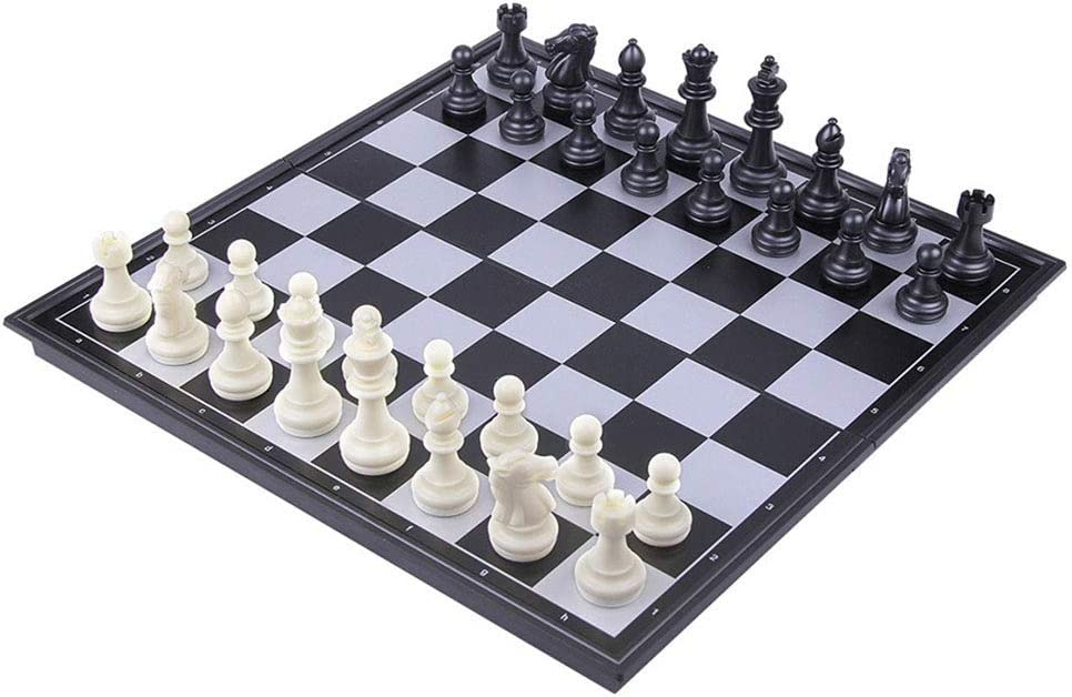 XArtfacnt Foldable Chessboard Magnetic Chess Pieces Porta Low price Rare
