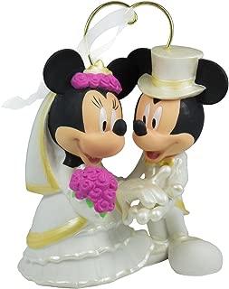 Hallmark I Do Times Two Mickey Mouse and Minnie Mouse Disney Wedding 2016 Keepsake Ornament