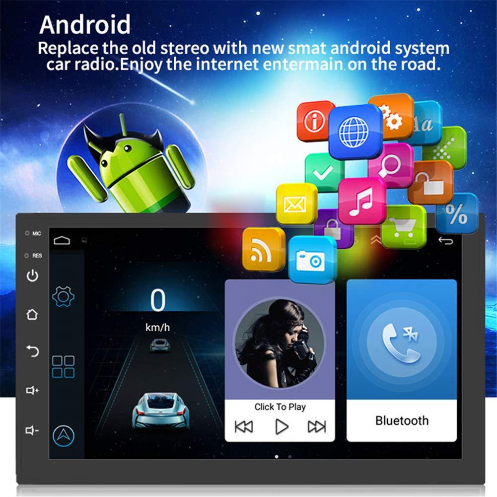 Amazon.es: Lanbowo Android 8.1 GPS navegación Coche estéreo Radio ...