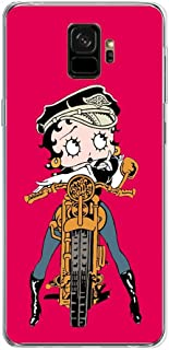 YAOYAN Clear Case Soft Gel TPU Shockproof Coque for Samsung Galaxy S9 - Betty-Boop Cartoon 3