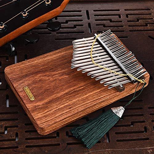 Hören Sie auf den Daumen Klavier Kalimbaqin Plate-Stil zu hören, um die Sea Special Edition Igel Palisander 17 Klang