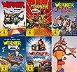 Werner - Set aus 5 Filmen   Beinhart   Das muss ke