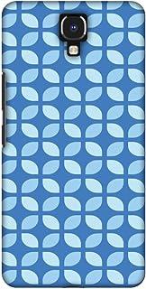 AMZER Handcrafted Designer Printed Slim Snap on Hard Case - Infinix Note 4 - Geometric Flowers 3