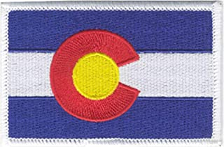 Strange Cargo Colorado State Flag Fully Embroidered Patch 2.5