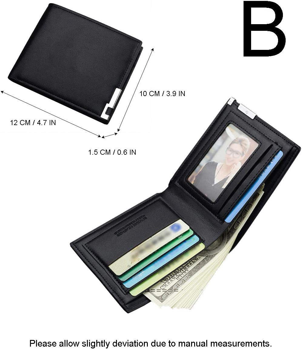 Gumstyle SCP Anime Artificial Leather Wallet Billfold Money Clip Bifold Card Holder 1 A