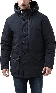 BGSD Men's Tommy Hooded Waterproof Down Parka Coat (Regular and Big & Tall)
