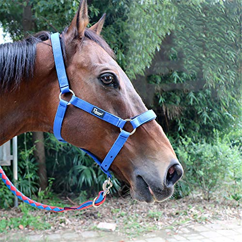 Tough 1 rose Poly//Nylon cheval taille pâturage museau Horse Tack cheval 52-976 H