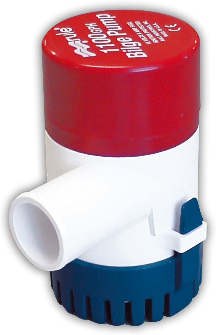 Discount is also underway Rule Max 70% OFF 1100 GPH Non-Automatic Bilge Pump Submersible
