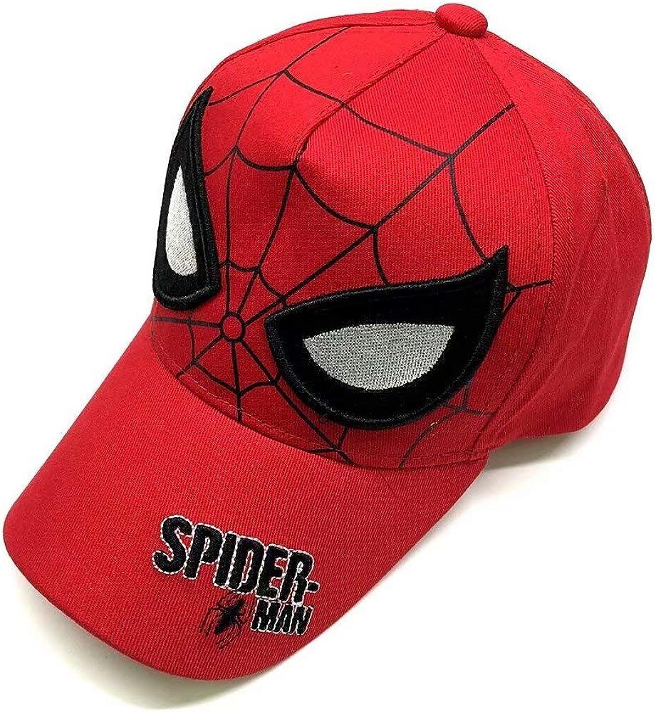 MTGH-cap Spiderman Cartoon Children Embroidery Cotton Baseball Cap Kids Boy Girl Hip Hop Hat